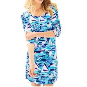 Lilly Pulitzer 3/4 Sleeve Tammy Dress XL NWT